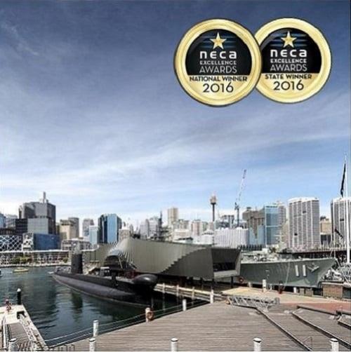 Australian National Maritime Museum – War Ships Pavilion